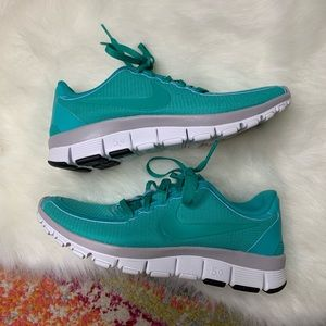 Nike New Free 5.0 V4 Sneakers New Green Size 7